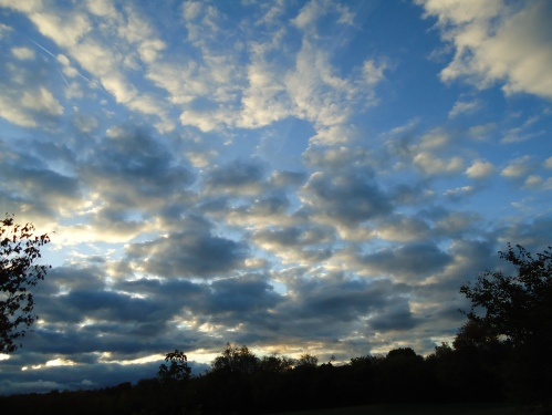 October Clouds 1