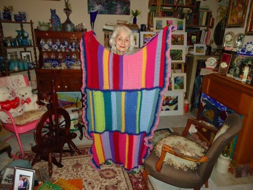Grandma and Grandchild Number 14's Blanket