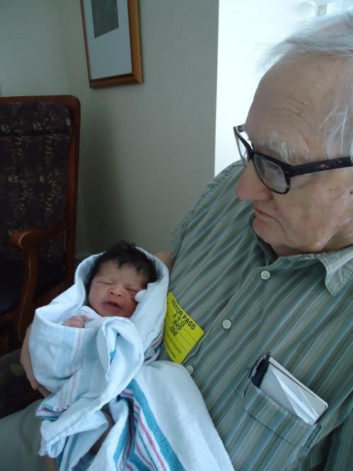 BB - Precious Bridget and Grandpa