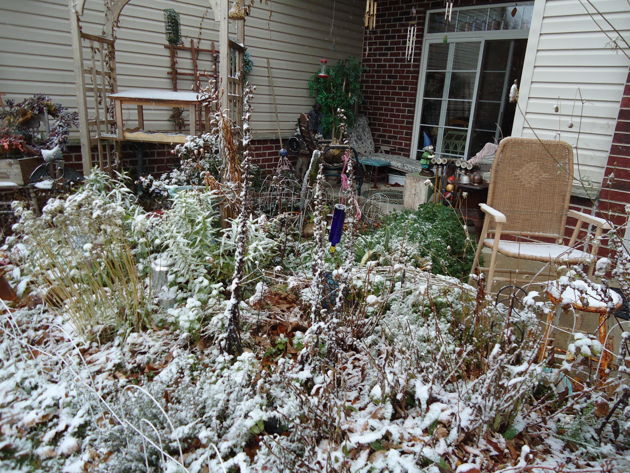 First snow 11-13 again