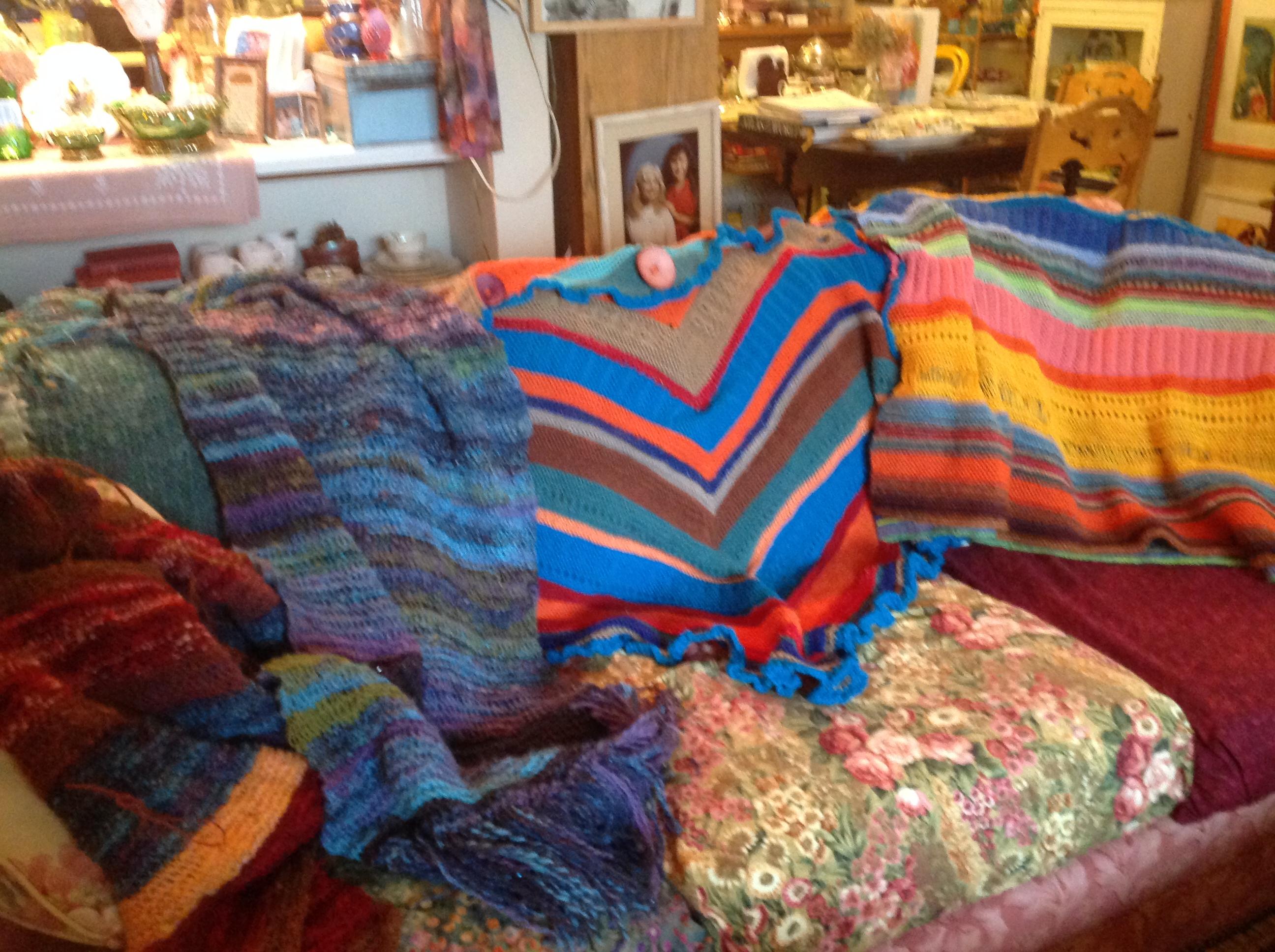 Winter shawls yes